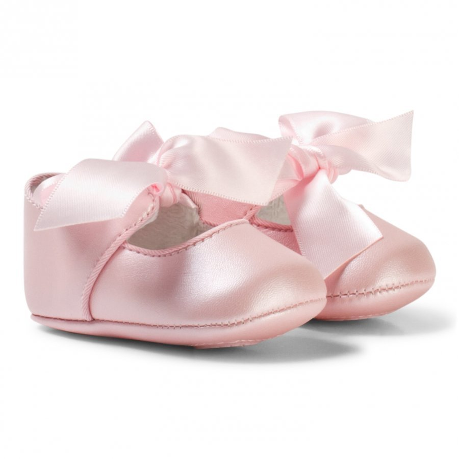 Mayoral Pink Bow Buckle Mary Janes Vauvan Kengät