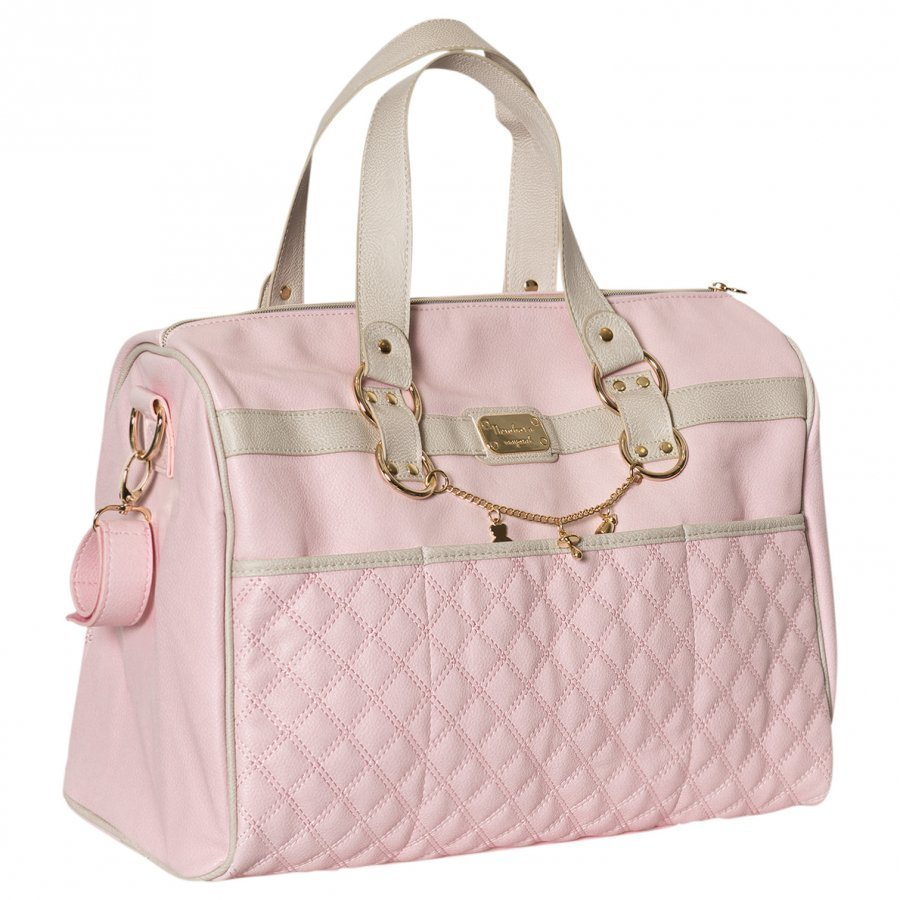 Mayoral Pink Faux Leather Quilted Changing Bag Hoitolaukku