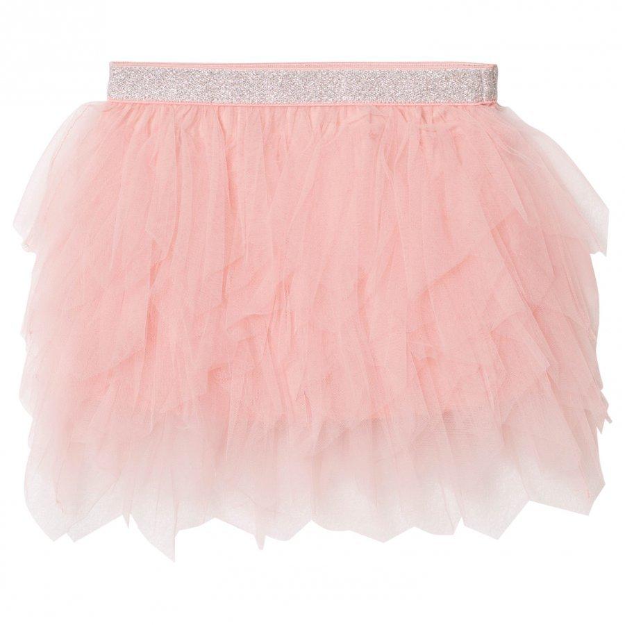 Mayoral Pink Glitter Petal Tulle Skirt Tyllihame