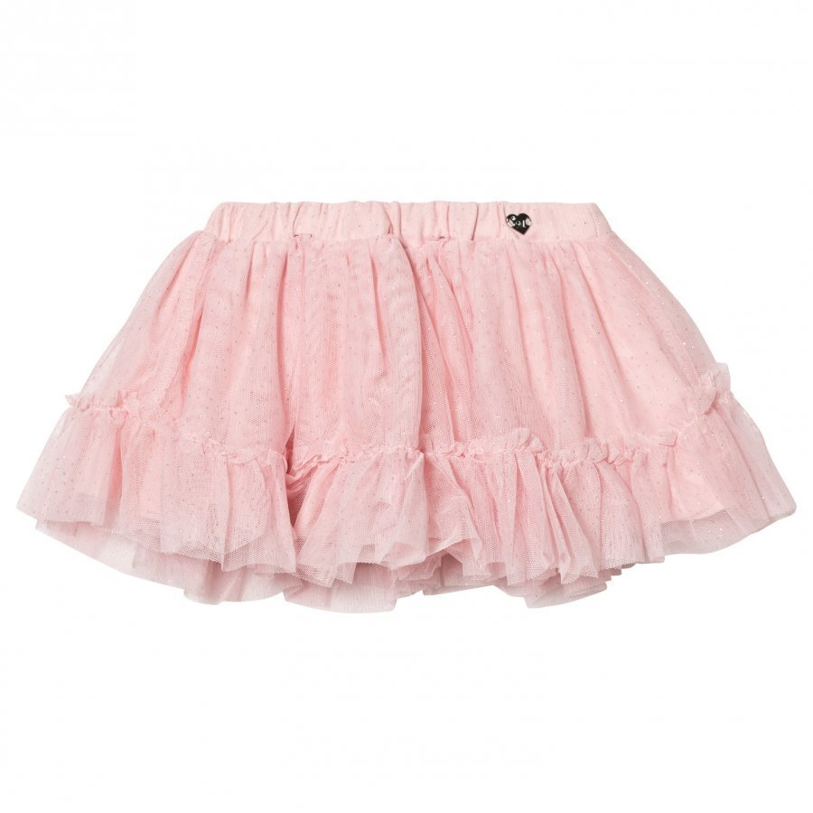 Mayoral Pink Glitter Tulle Skirt Tyllihame