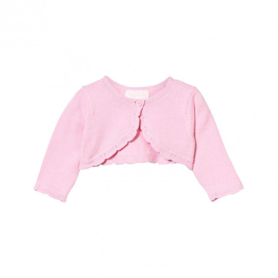 Mayoral Pink Knit Bolero Neuletakki