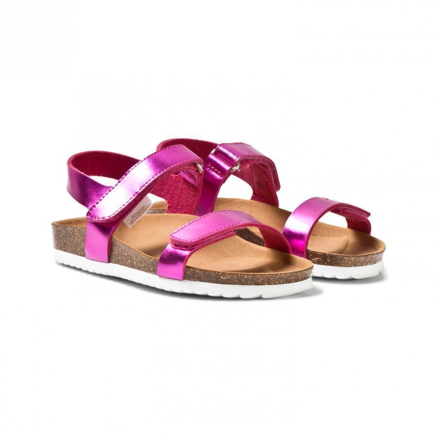 Mayoral Pink Metallic Velcro Sandals Remmisandaalit