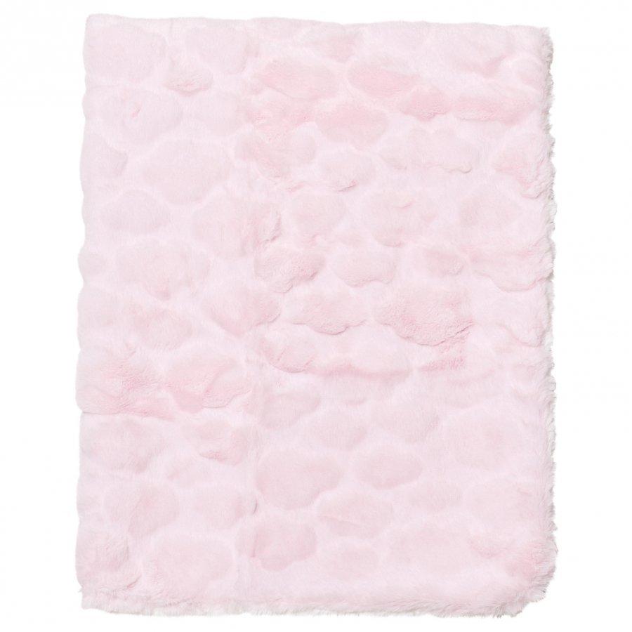 Mayoral Pink Plush Baby Blanket Huopa