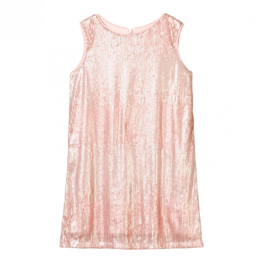 Mayoral Pink Sequin Pattern Sleeveless Dress Juhlamekko