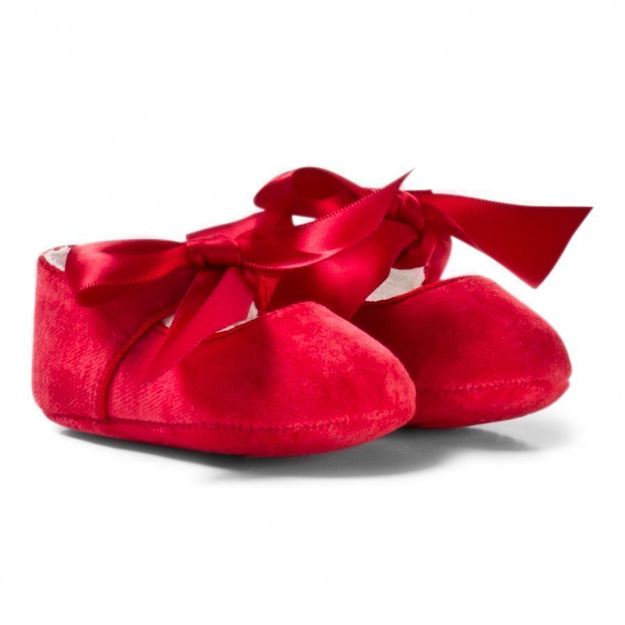 Mayoral Red Bow Buckled Mary Janes Vauvan Kengät