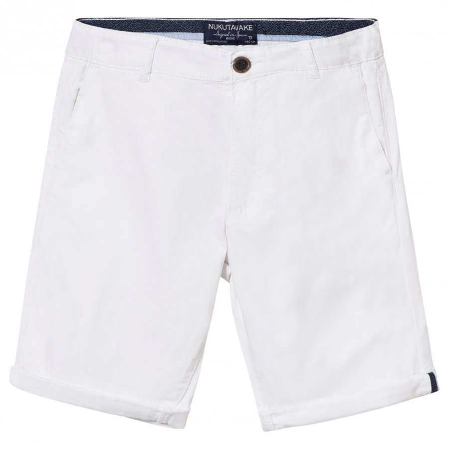 Mayoral White Classic Shorts Juhlashortsit