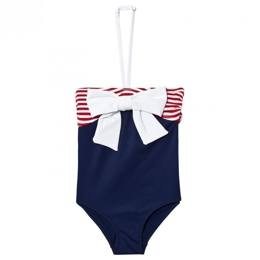 Mc2 St Barth Navy Nautical Swimsuit Uimapuku