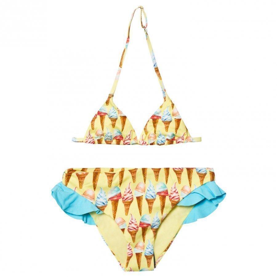 Mc2 St Barth Yellow Ice Cream Bikini Bikinit