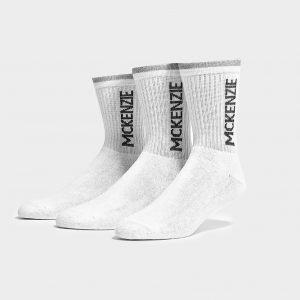 Mckenzie 3 Pack Sports Socks Sukat Valkoinen