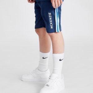 Mckenzie Felton Shorts Tummansininen