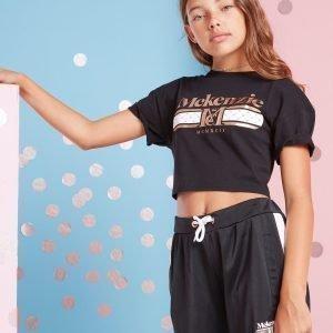 Mckenzie Girls' Caterina T-Shirt Musta