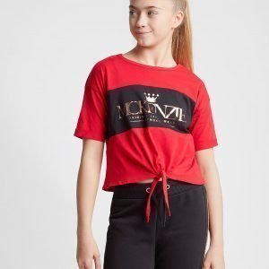 Mckenzie Girls' Coco Knot T-Shirt Punainen