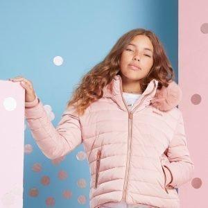 Mckenzie Girls' Lola Jacket Vaaleanpunainen