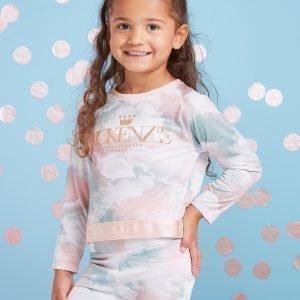 Mckenzie Girls' Mini Carla Long Sleeve T-Shirt Vihreä