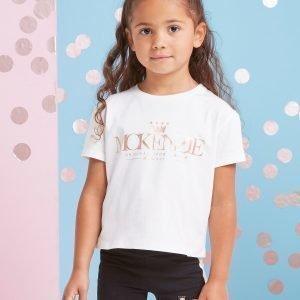 Mckenzie Girls' Mini Sophia T-Shirt Valkoinen