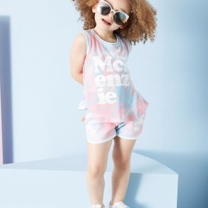 Mckenzie Girls' Petra Vest / Shorts Set Vaaleanpunainen