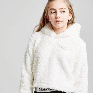 Mckenzie  Girls' Romy Sherpa Crop Huppari Valkoinen