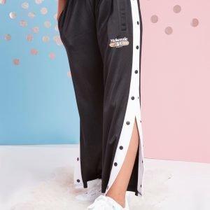 Mckenzie Girls' Valentina Popper Pants Musta