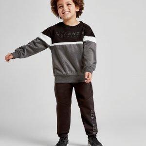 Mckenzie Mini Nixon Crew Sweatshirt Suit Musta