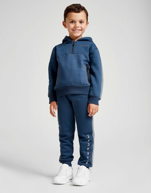 Mckenzie Mini Reflective 1/2 Zip Suit Sininen