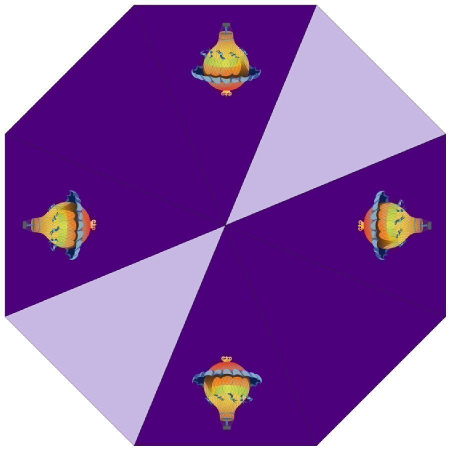 Mcneill Sateenvarjo Motion Line 177 Ballons