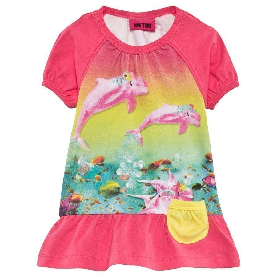 Me Too Fido 62 Dress Ss Hot Pink Mekko