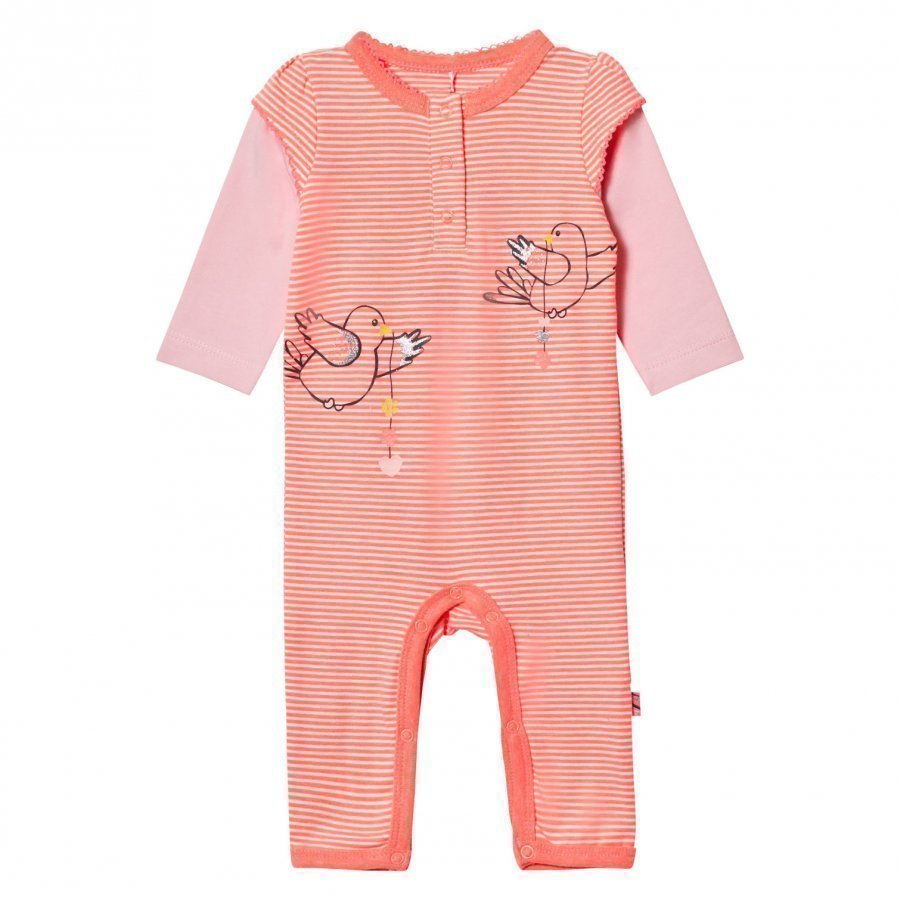 Me Too Kin 261 Baby One-Piece Bright Coral Body