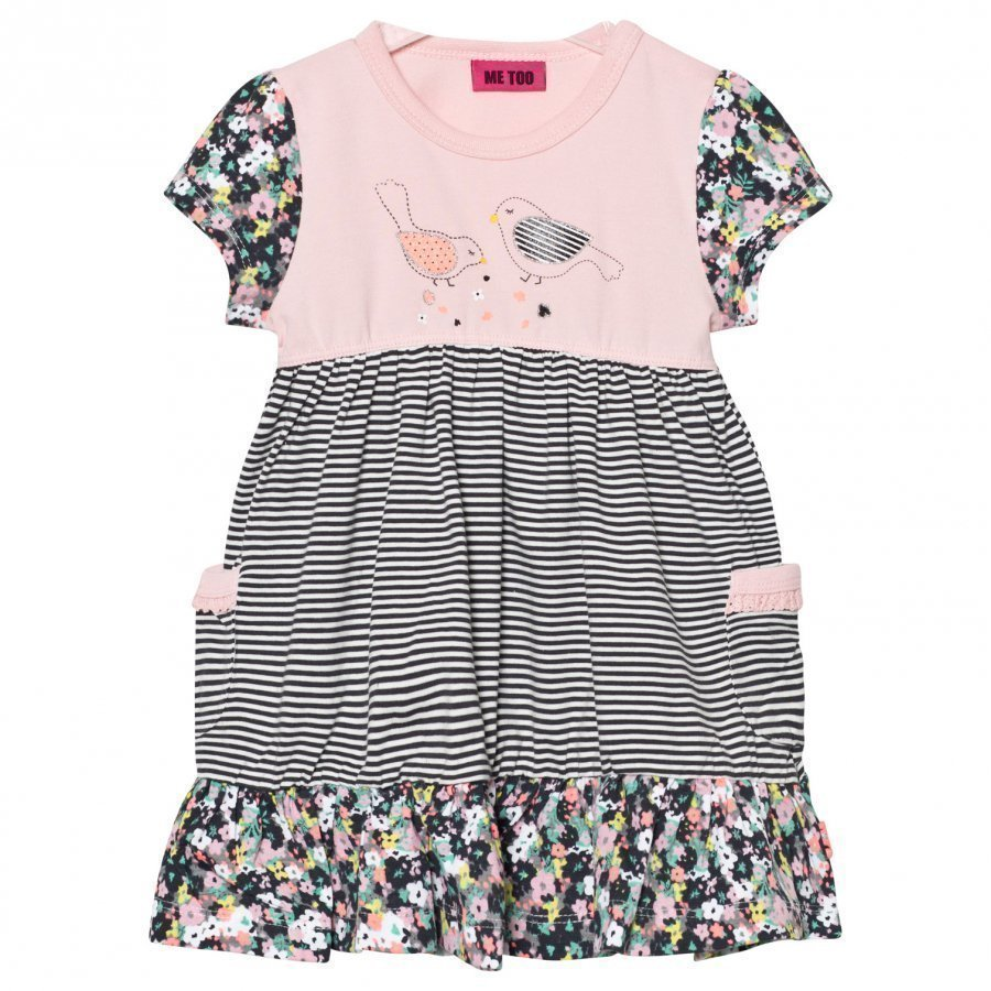 Me Too Klara Dress Crystal Rose Mekko