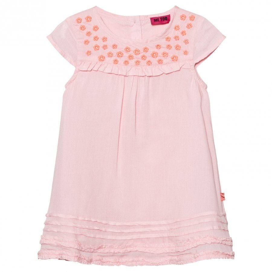 Me Too Klara Dress Woven Crystal Rose T-Paita