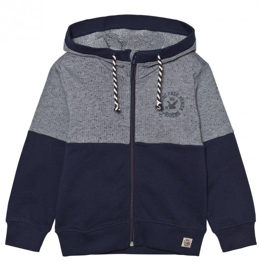 Me Too Kris Cardigan Sweater Black Iris Neuletakki