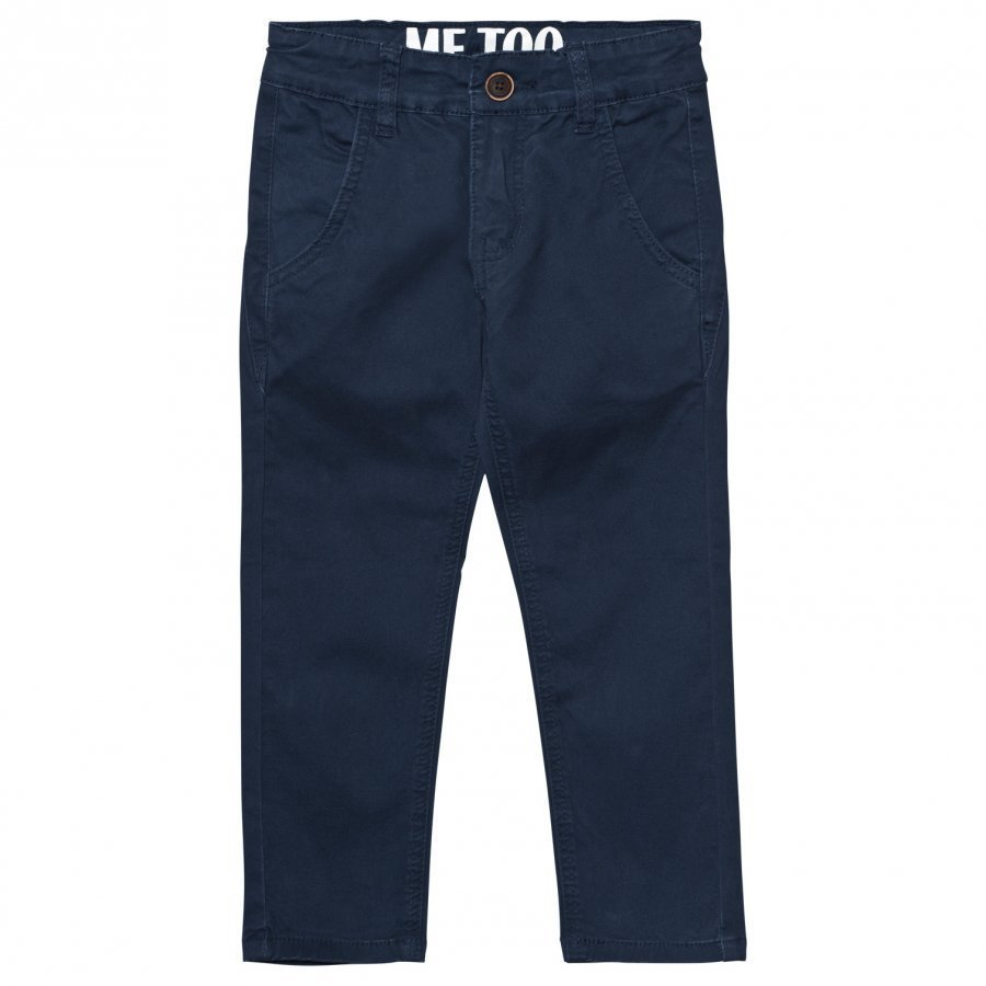 Me Too Kris Pants Twill Black Iris Housut