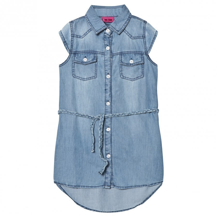 Me Too Laila 289 Dress Blue Denim Mekko