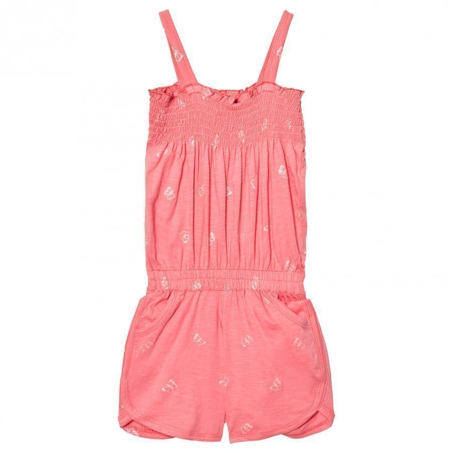 Me Too Laila 296 Romper Strawberry Pink Potkupuku