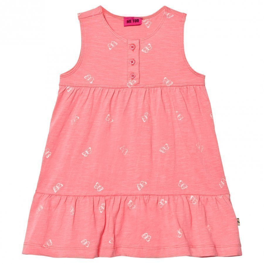 Me Too Lara 286 Dress Strawberry Pink Mekko