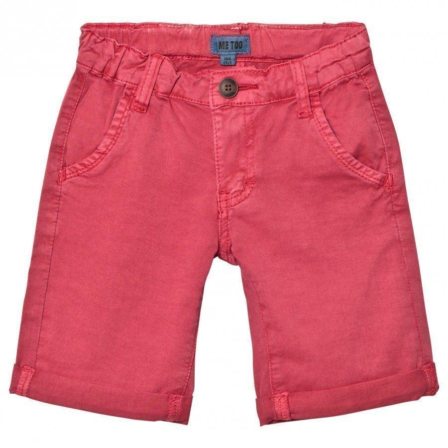 Me Too Lasse 288 Twill Bermuda Shorts Cardinal Shortsit