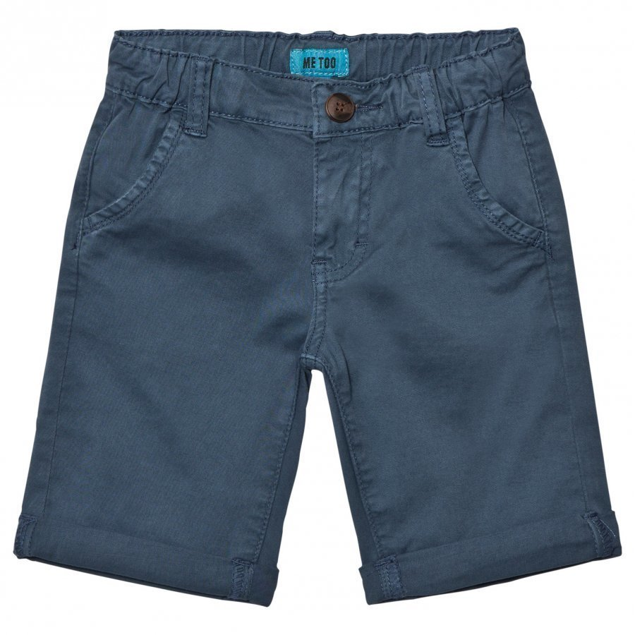 Me Too Lasse 288 Twill Bermuda Shorts Dark Denim Shortsit