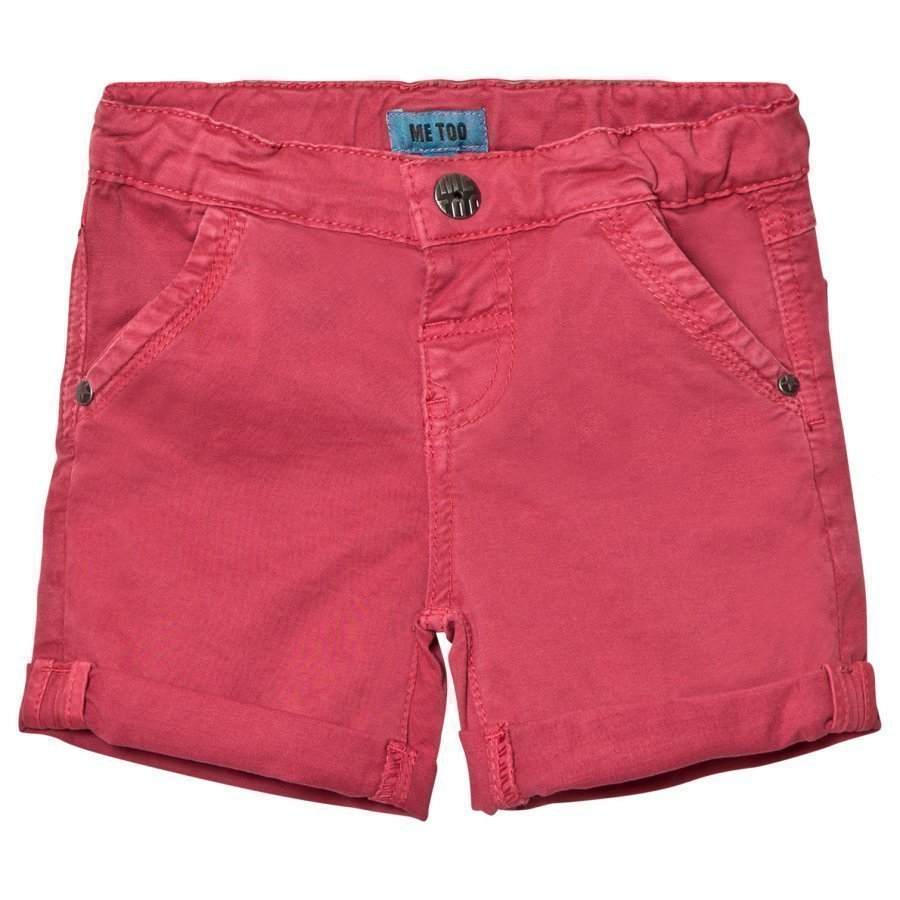 Me Too Lau 286 Twill Bermuda Shorts Cardinal Shortsit