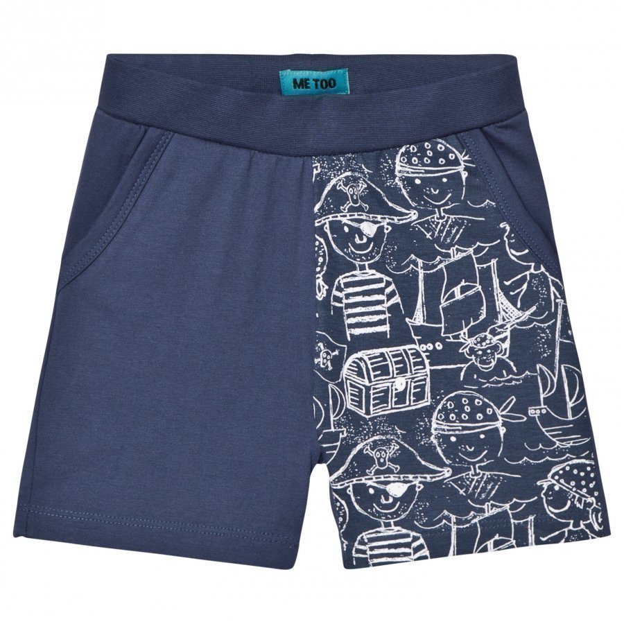 Me Too Lau 292 Shorts Dark Denim Shortsit
