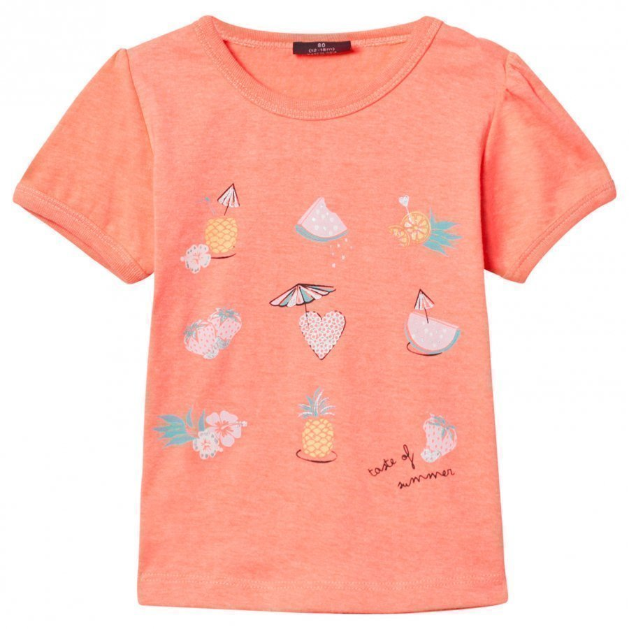 Me Too Lissi 306 Top Bright Coral T-Paita