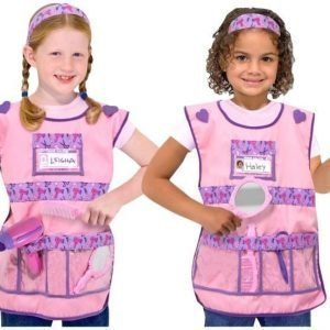 Melissa & Doug Role Play Costume Set Hair Stylist
