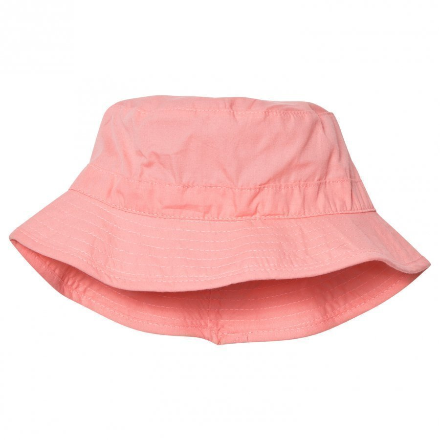 Melton Bucket Hat Salmon Rose Aurinkohattu