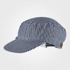 Melton Cap Summer Deep Blue Lippis
