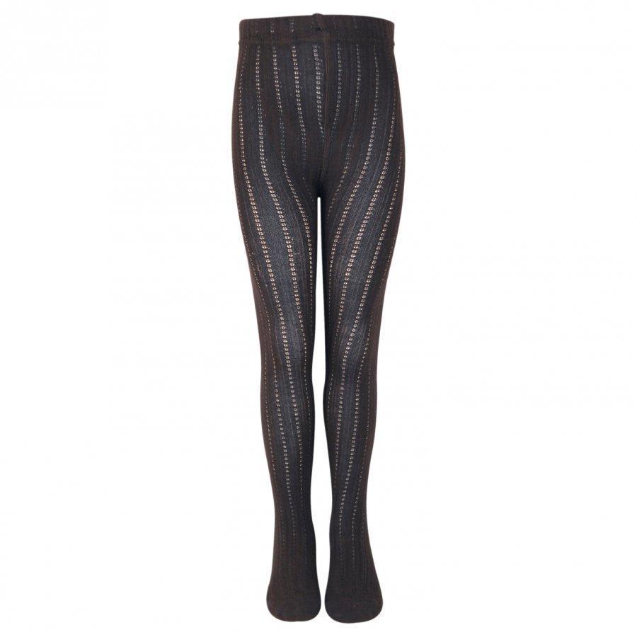 Melton Classic Tights W/Bamboo Millie Graphite Greyish Sukkahousut