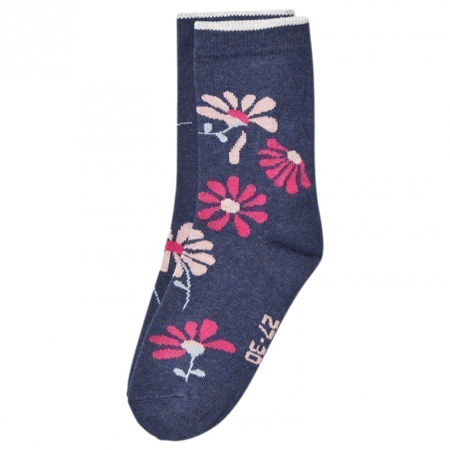Melton Floral Socks Tahiti Sukat