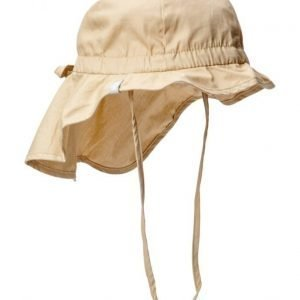 Melton Hat W/Neck & Bow Solid Col