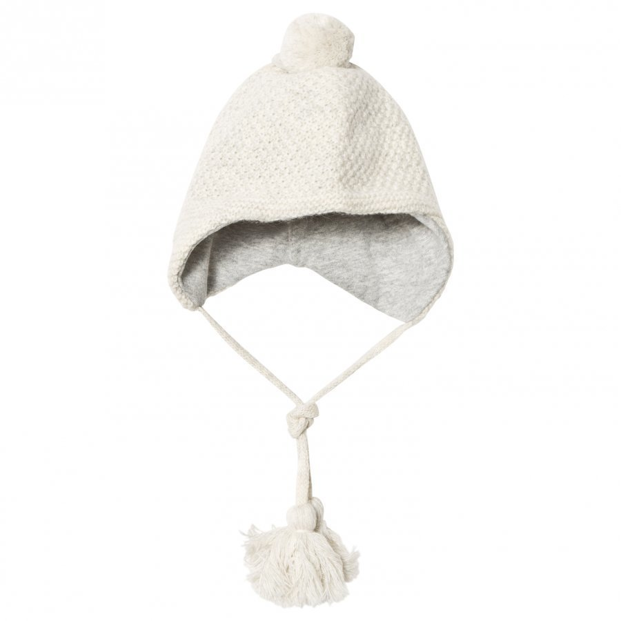 Melton Lamb Wool Sailor Tassel Hat Off White Pipo