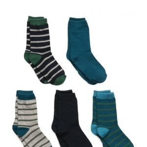 Melton Numbers 5-Pack Socks Mix