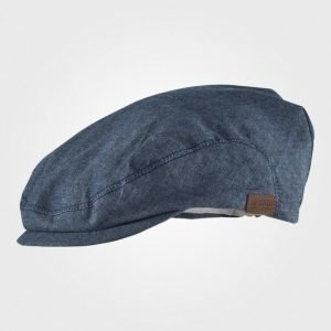 Melton Sixpence Denim Hat Melange Tahiti Pillbox Hattu