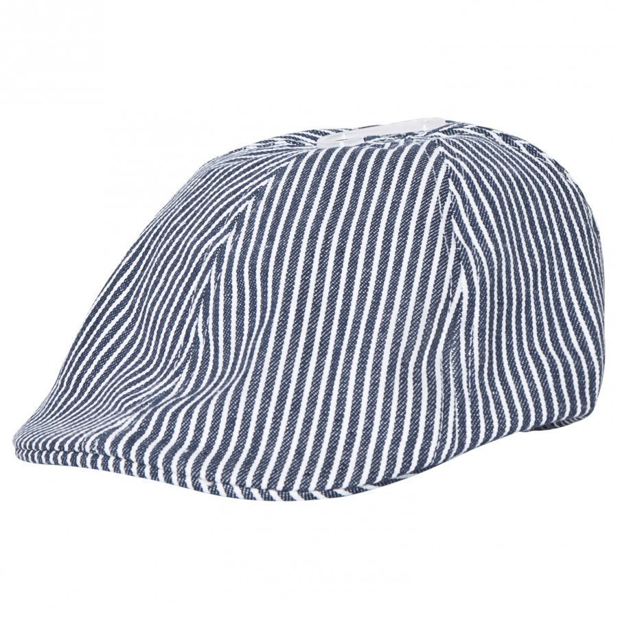 Melton Sixpence Hat Deep Blue Lippis