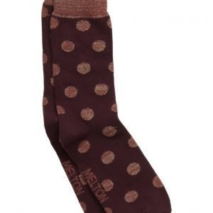 Melton Sock Dots W/Lurex